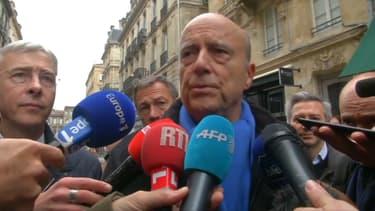 Alain Juppé ce 9 décembre à Bordeaux