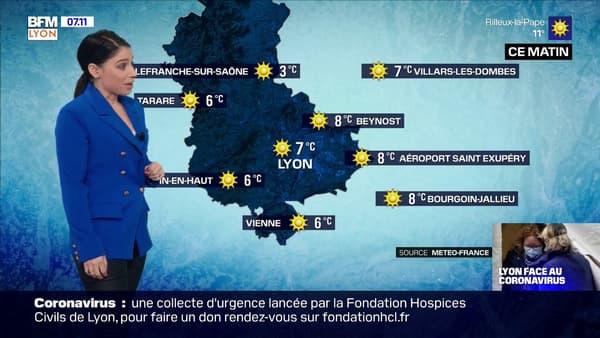 Une météo très ensoleillée ce dimanche avec des températures dignes dun mois de mai jusquà 20C à Lyon.jpg