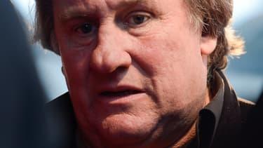 Gérard Depardieu, le 1er novembre 2013.