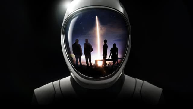 """La série """"Compte à rebours: la mission Inspiration4 vers l'espace"""""""