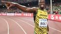 Usain Bolt lors des Mondiaux 2015