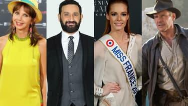 Victoria Abril, Cyril Hanouna, Maeva Coucke et Harrison Ford dans l'actualité de la semaine.