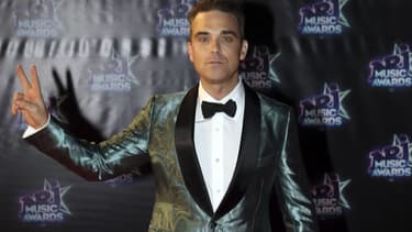 Robbie Williams en novembre 2016 à Cannes