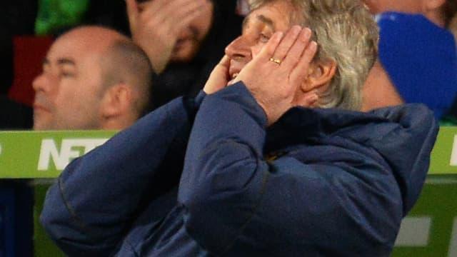 Manuel Pellegrini, l'entraîneur de Man City