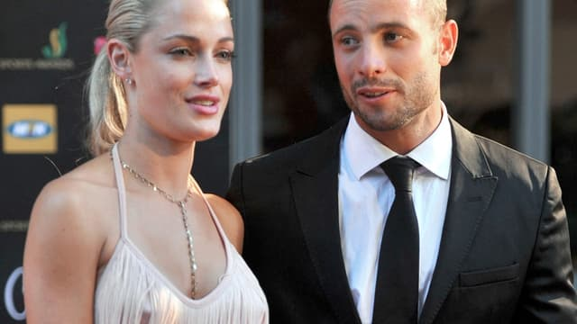 Reeva Steenkamp et Oscar Pistorius