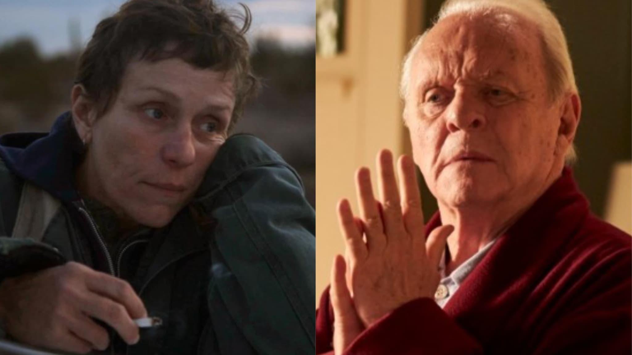 Anthony Hopkins meilleur acteur, Frances McDormand meilleure actrice