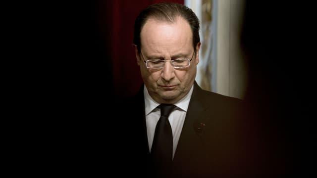 François Hollande, le 23 janvier 2014, à Paris.