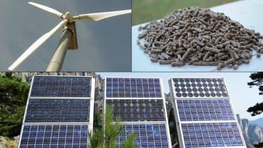 L'éolien et le photovoltaïque terrestre ainsi que le bois sont des énergies de plus en plus compétitives selon l'Ademe.