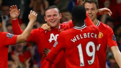 Manchester United a publié un chiffre d'affaires record au premier trimestre.