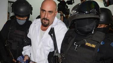 Serge Atlaoui, condamné à mort en Indonésie, pour trafic de drogues.