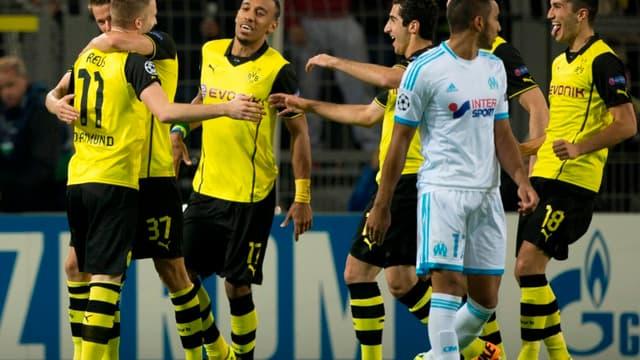 Dimitri Payet et l'OM n'ont pas fait le poids à Dortmund