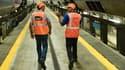 Cette enquête a été réalisée auprès du personnel de la holding de tête du groupe public ferroviaire et des salariés de l'entité SNCF Mobilités (trains et gares),