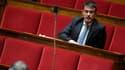 Manuel Valls le 3 octobre 2017 à l'Assemblée nationale.