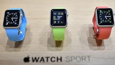 La gamme sportive de la Smartwatch d'Apple