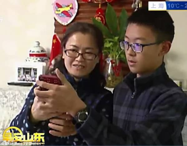 Pour Face ID, ce jeune homme est le portrait craché de sa mère