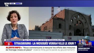 """Mosquée à Strasbourg: """"L'association porteuse du projet m'a annoncé qu'elle retirait sa demande de subvention"""", témoigne la maire de la ville"""