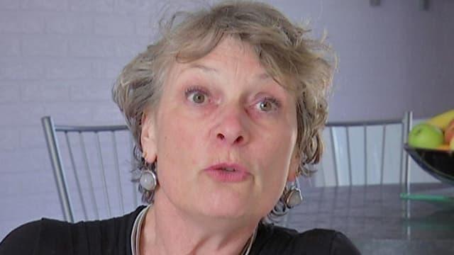 Françoise Thauvin, rescapée de l'attentat du musée du Bardo.