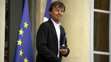 Nicolas Hulot, le 11 juillet 2018 sur le perron de l'Elysée.