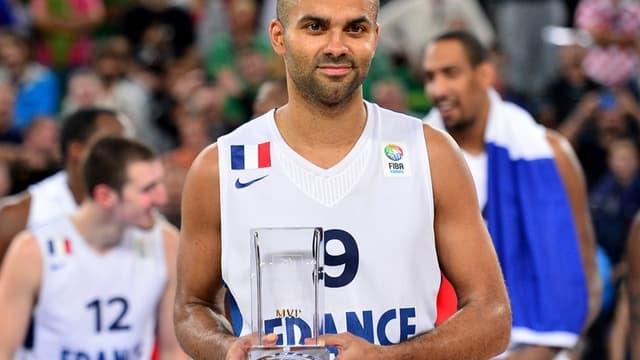 Tony Parker champion d'Europe et MVP de l'Euro