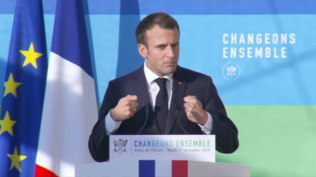 Emmanuel Macron ce mardi.