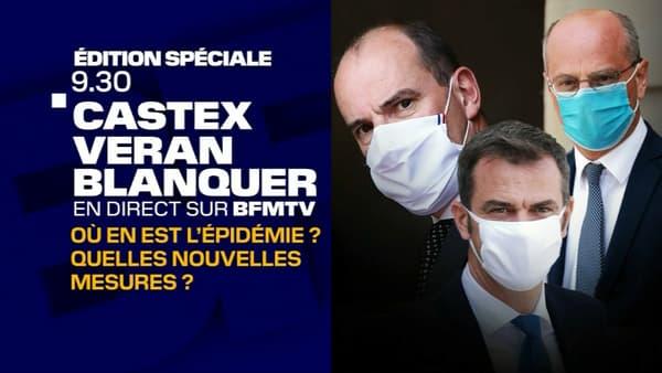 Édition spéciale sur BFMTV à partir de 9h30 ce jeudi 27 août, à l'occasion de la conférence de presse de Jean Castex.