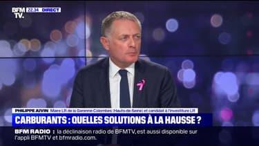 """Philippe Juvin: """"Il faut aller vers une diminution des taxes sur les produits pétroliers"""""""