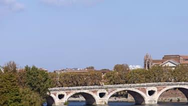 La Garonne à Toulouse.