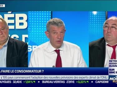 Le débat : Que va faire le consommateur ?, par Jean-Marc Daniel et Emmanuel Lechypre - 26/07
