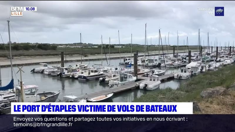 Vols de moteurs au port d'Étaples: le maire en appelle à l'État