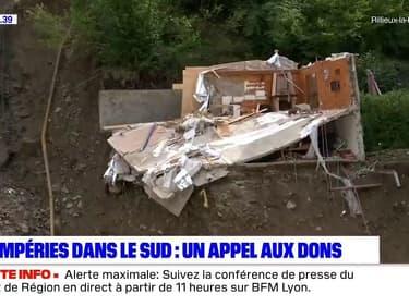 Rhône: le Secours Populaire lance un appel aux dons pour les sinistrés des Alpes-Maritimes