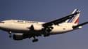 Un A310 d'Air France en plein vol.