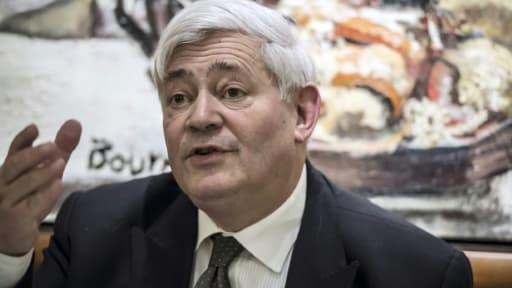 Bruno Gollnisch, député européen FN, le 30 janvier 2015 à Lyon