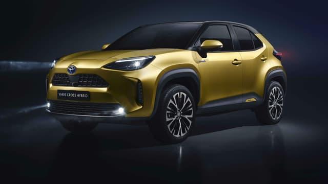 La nouvelle Yaris Cross, déclinaison SUV de la citadine made in France de la marque japonaise.
