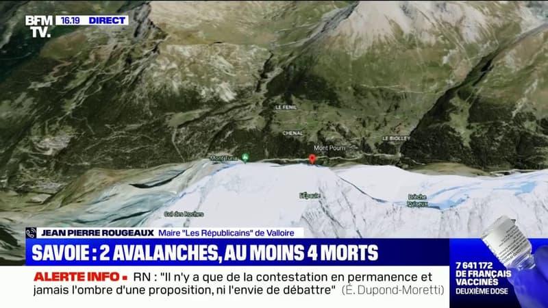 Avalanches en Savoie: le maire de Valloire appelle les randonneurs