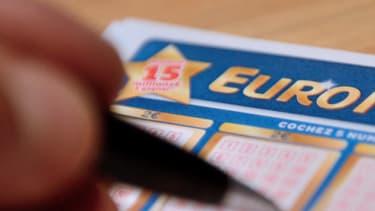 Ticket d'Euro Millions. (illustration) -