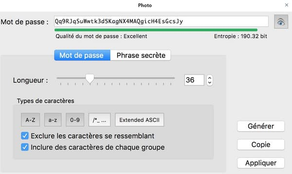 KeePass permet de stocker ses mots de passe en local.