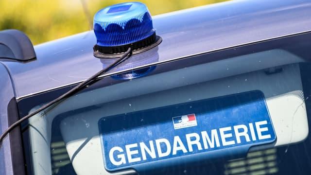 Voiture de la gendarmerie (illustration)
