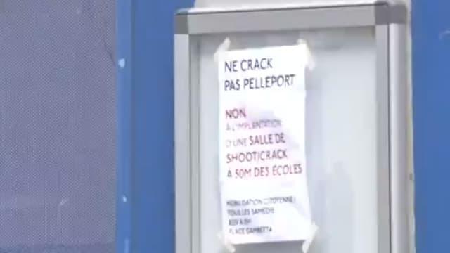 Le projet d'installation d'une salle à destination des toxicomanes à proximité d'une école du 20e arrondissement de Paris avait provoqué la colère des habitants.