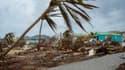 L'île de Saint-Martin a été dévastée par l'ouragan Irma.