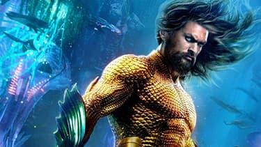 "Jason Momoa, héros de ""Aquaman""."