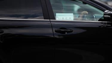 Une voiture Uber (photo d'illustration).