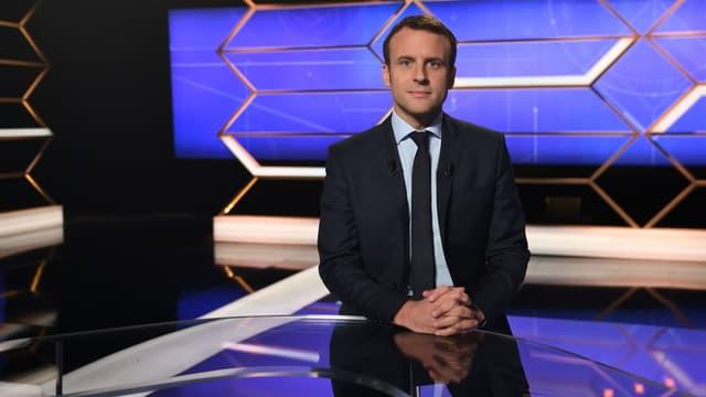 Emmanuel Macron a vanté sa foi dans le dialogue social à l'allemande