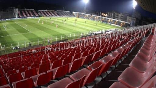 La fréquentation est en baisse dans les stades de football français.