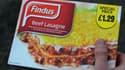 Le scandale est parti de ce type de plat, des lasagnes préparées de marque Findus.