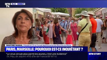 """Marseille: pour Martine Vassal, """"ce n'est pas en mettant des bus en plus qu'on va pouvoir diminuer la circulation du virus"""""""