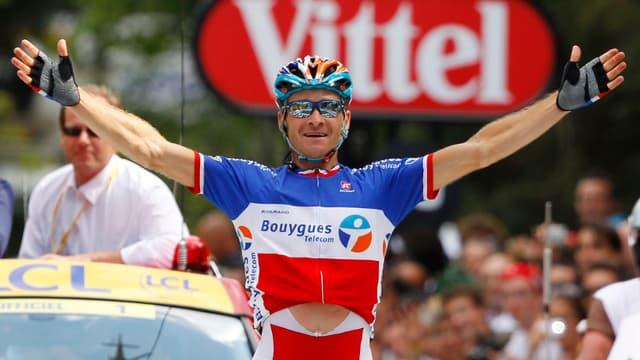 En difficulté en début de Tour, Thomas Voeckler rayonne après son succès du jour
