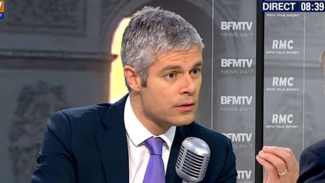 Le secrétaire général des Républicains Laurent Wauquiez.