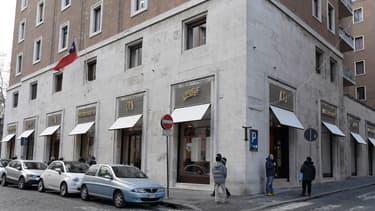 McDonald's s'est installé dans un immeuble appartenant au Vatican.