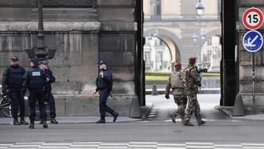 En février dernier, un homme avait agressé des militaires au Carrousel du Louvre à Paris
