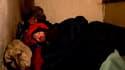 Sans domicile fixe à Rézé, près de Nantes. La France comptait 250.000 personnes sans domicile ou en hébergement précaire et 2,9 millions habitant des logements sans confort à la fin des années 2000, selon une étude de l'Insee publiée jeudi. /Photo prise l